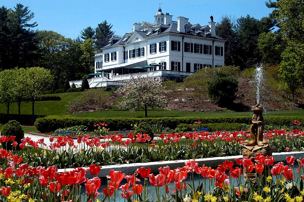 the mount edith wharton estate and gardens berkshires twin travel concepts. Black Bedroom Furniture Sets. Home Design Ideas