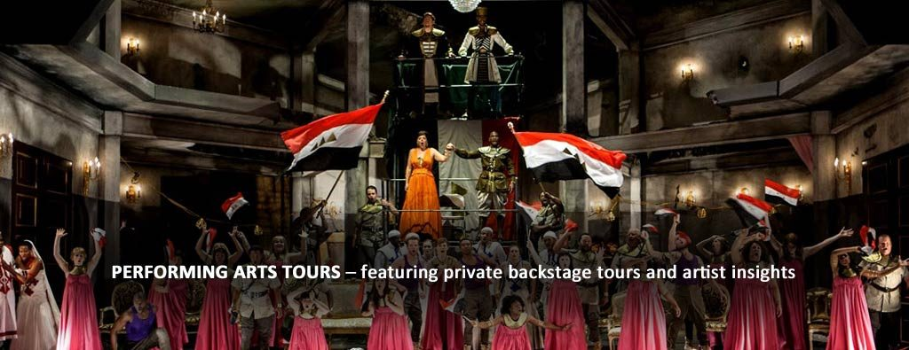 performing arts group tours