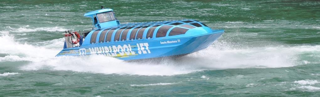 Whirlpool Jet Boat group tours
