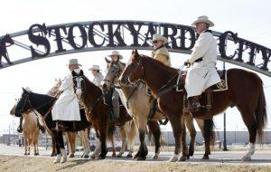 stockyard city Oklahoma Through Arkansas group tour