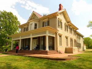 Frederick Douglass home group tour